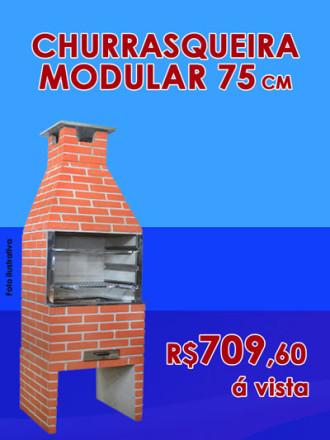 Churrasqueira modular