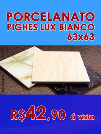 Porcelanato Pighes Lux Bianca